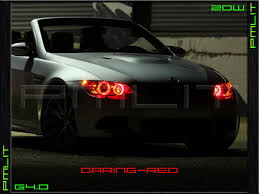 Coupe Series 04 bmw x5 : 04-06 BMW X5 G4.0 Angel-Eyes 20W LED Headlights Halo Bulbs
