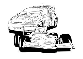 Kleurplaat Cars Pixar 2429