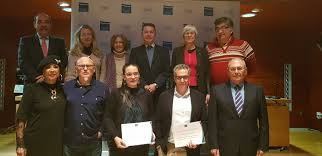 Alejandro Mario Ascaso recibe el premio del V concurso de relato corto  'Hablando en Cobre' | Canteras y Explotaciones