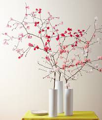 Paper Flower Branches Make It Yourself A Spring Bouquet Of Paper Cherry Blossoms
