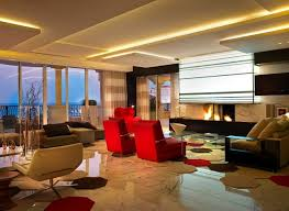 living area lighting. plain area a glossy marble floor covers the entirety of room and also rises to  cover throughout living area lighting