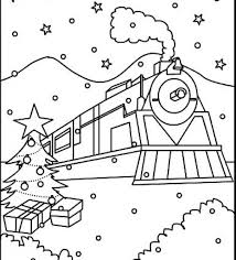 Polar Express Coloring Pages Printable Coloringstar