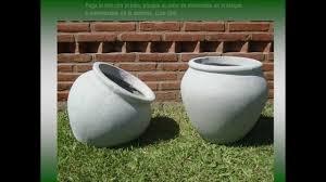 Crea Tus Propias Macetas Con Concreto  TaringaComo Hacer Un Macetero Grande De Cemento