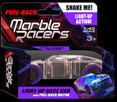 Light Up Marble Racer Pull Back Marble Racer Purple Raff And Friends