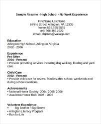 High School Education On Resume 24 Education Resume Templates Pdf Doc Free Premium