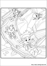 Small Picture Jake and the Never Land Pirates coloring pages on Coloring Bookinfo