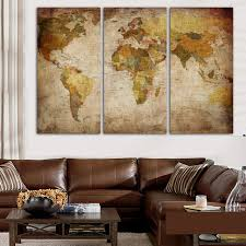 online shop world map wall art canvas posters and prints modular picture for living room classical europe type decoration drop shipping aliexpress mobile on world map wall art canvas with online shop world map wall art canvas posters and prints modular