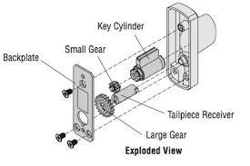 door lock parts. Simple Lock Andersen Exterior Keyed Lock Parts Replacement Kit With Door A