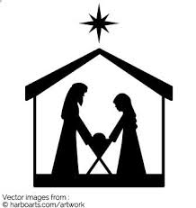 nativity silhouette patterns download. Interesting Nativity Nativity Silhouette  Vector Graphic In Patterns Download E