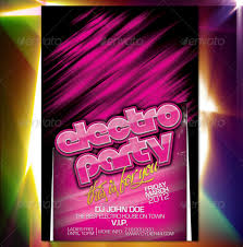 4 X 6 Flyer Template Free Download Sample Electro Party Flyer Template 4 X 6 By Dy R44