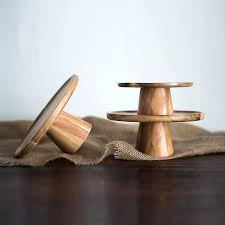 wooden cake stand japan style high stand wooden cake plate creative food serving trays multi use wooden cake stand