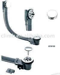 bathtub drain assembly parts