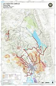 napa county fire map tuesday oct
