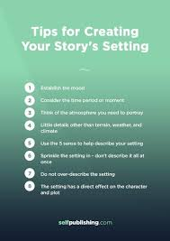 setting of a story how to create a