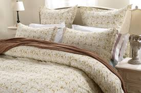 5pc taupe white fl paisley duvet cover set style 1030 cherry hill collection