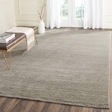 com safavieh himalaya collection him311d handmade grey premium wool area rug 6 x 9 kitchen dining