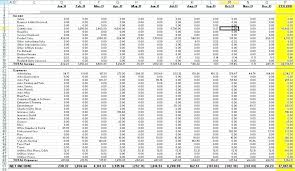 Expense And Income Template Excel Spreadsheet Template For Expenses Simple Business Expense