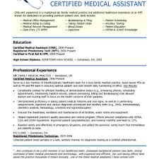 cover letter sample resume of medical assistant sample resume  cover letter medical assistant resume experience resumes medical experiencesample resume of medical assistant