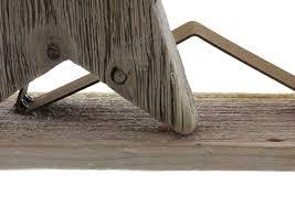 Holz Deko Stern Weihnachten Fenster Sternen Rostoptik Tisch