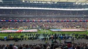 Wembley Stadium Nfl Seating Chart Wembley Stadium Section 123 Home Of England National
