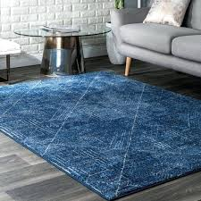 blue abstract area rug ikat rugs dark