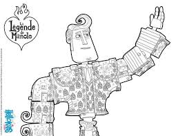 Manolo Book Of Life Movie Coloring Pages Hellokidscom