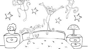Monkey Coloring Pages For Kids Printable Pdf Summer Pokemon Cute