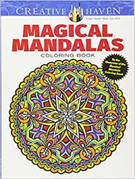 Small Picture Creative Haven Magical Mandalas Coloring Book By the Illustrator