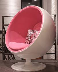stunning cool round chairs retro round pink egg chair want
