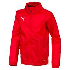 Puma Kinder Jacket Puma Kinder Rot Weiss Regenjacke Rain