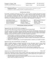 Nursing Resume Cover Letter New Grad Registered Nurse Cover Letter