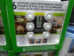 awesome led puck lights or capstone led puck lights 4 76 led puck lights costco