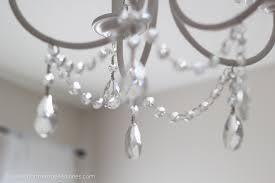 remarkable diy crystal chandelier diy crystal chandelier easy tutorial