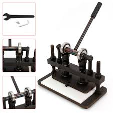 height adjust 26x12cm hand leather cutting machine manual leather cutter usa