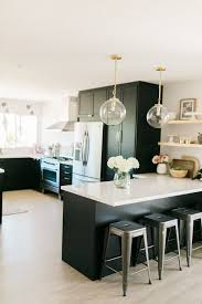 Classic Black: Bright and Light IKEA + Semihandmade Kitchen