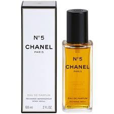 chanel no 5 eau de parfum. chanel no.5 eau de parfum for women 2 oz refill with atomizer no 5 u