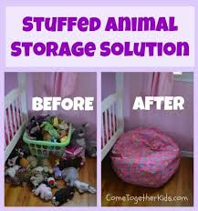 20+ Creative DIY Ways to Organize and Store Stuffed Animal Toys --> Fill