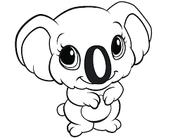 Easy Little Kid Coloring Pages Cute Easy Animal Coloring Pages New