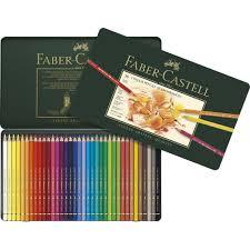 Polychromos Artists Color Pencils Tin Of 36 110036