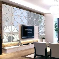 mirror wall art wall art mirrored mirror wall 4 squares acrylic mirror wall sticker living room mirror wall art