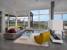 edmonton grey sectional sofa with contemporary area rugs living room modern  and corner window rustic landscape