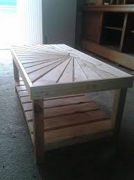 pallet wooden coffee table pallet ideas