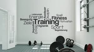 Wandtattoo Sport Fitness Motivation Sprüche Wandtattoosde