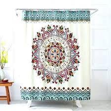 boho shower curtain shower curtain target shower curtain better homes and gardens medallion fabric shower boho shower curtain