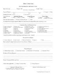 Therapy Note Template Group Therapy Notes Template Group