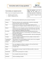 dbq evidence and analysis sentence starters instruction verbs in essay questions student learning