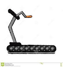Conception De Gymnase De Machine De Marche De Forme Physique De