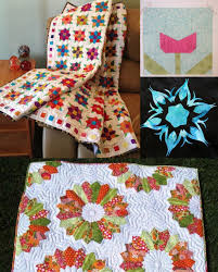 10+ Modern Flower Quilt Patterns You'll Love & modern flower quilt patterns Adamdwight.com