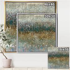 designart metal wall art gold wood