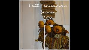 cinnamon broom decorating ideas fall cinnamon broom diy traditions